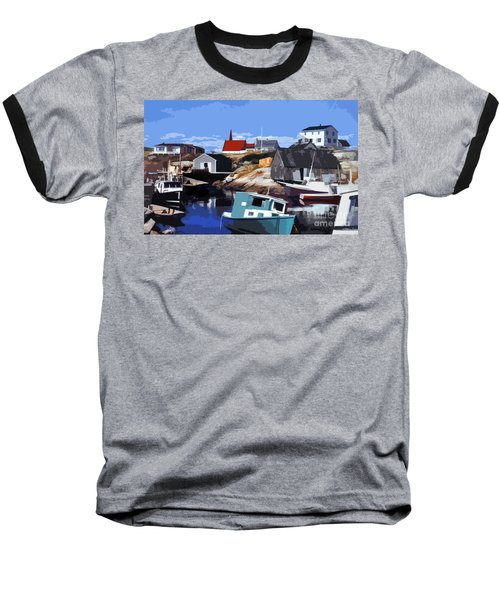 Peggy's Cove Baseball T-Shirt