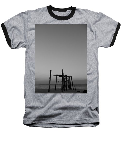 Pier Portrait Baseball T-Shirt
