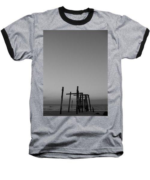 Pier Portrait Baseball T-Shirt
