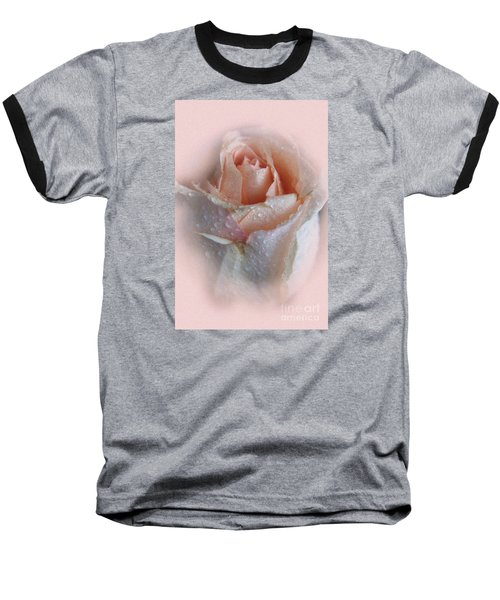 Pink Rose2 Baseball T-Shirt