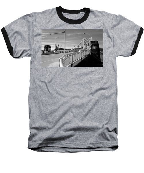 Pittsburgh - Roberto Clemente Bridge Baseball T-Shirt