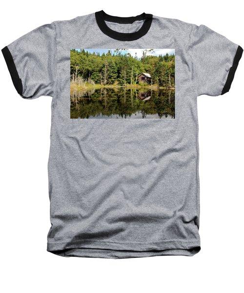 Pond Along The At Baseball T-Shirt