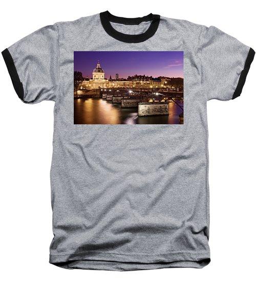 Pont Des Arts And Institut De France / Paris Baseball T-Shirt