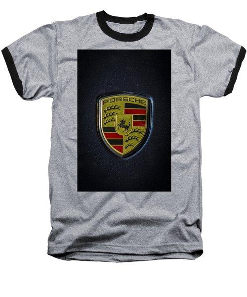 Porsche Logo Baseball T-Shirt