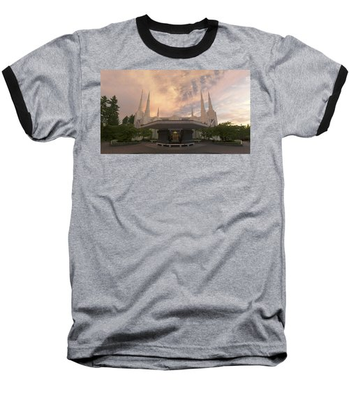 Portland Temple Baseball T-Shirt