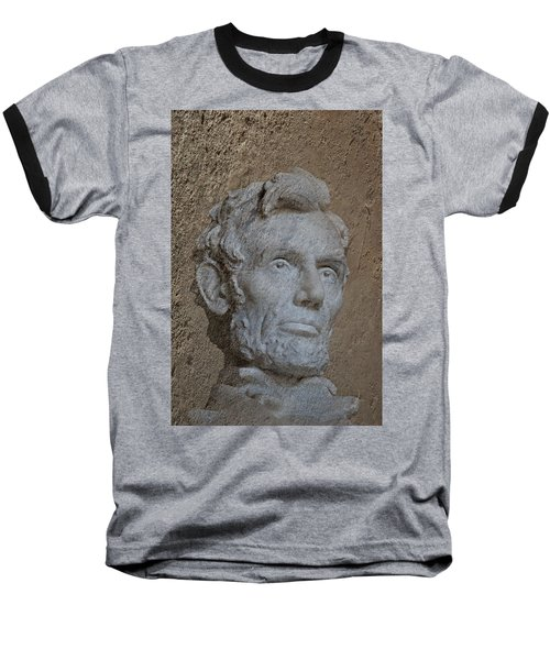 President Lincoln Baseball T-Shirt by Skip Willits