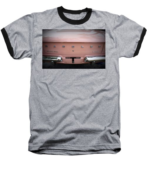 Baseball T-Shirt featuring the photograph Pretty In Pink by Laurie Perry
