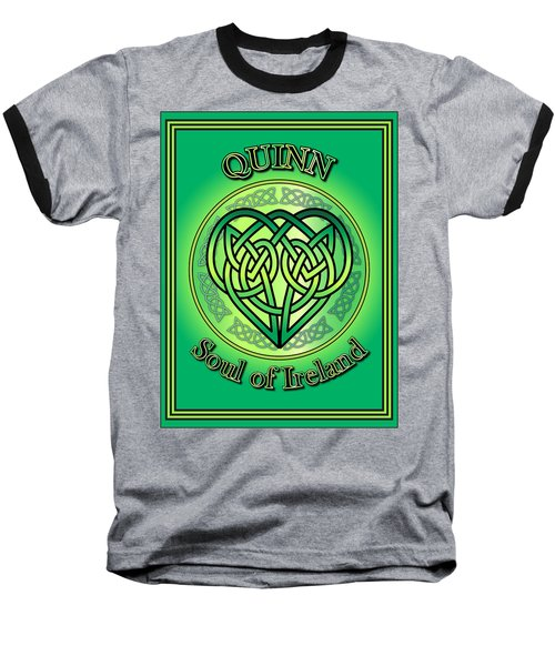 Quinn Soul Of Ireland Baseball T-Shirt