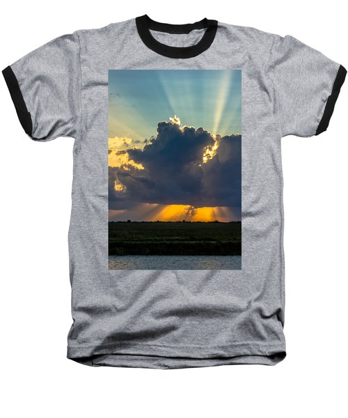 Rays From The Clouds Baseball T-Shirt