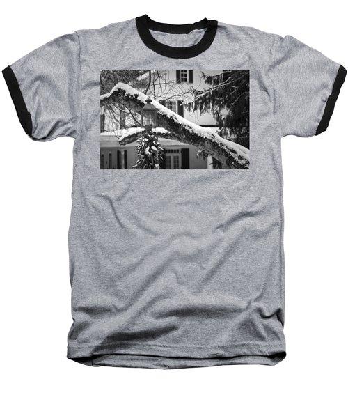 Holiday Candle Light Baseball T-Shirt