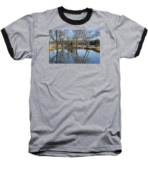 Reflection Baseball T-Shirt by Heidi Poulin