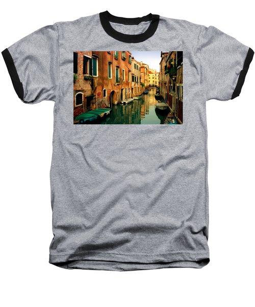 Reflections Of Venice Baseball T-Shirt