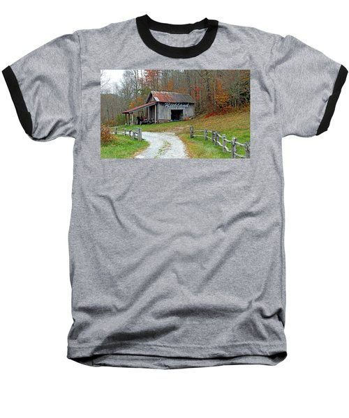Richland Creek Farm Barn Baseball T-Shirt