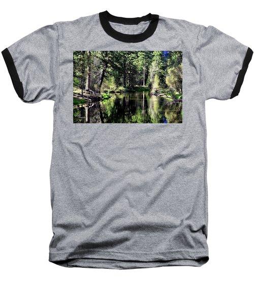 River Reflections Baseball T-Shirt