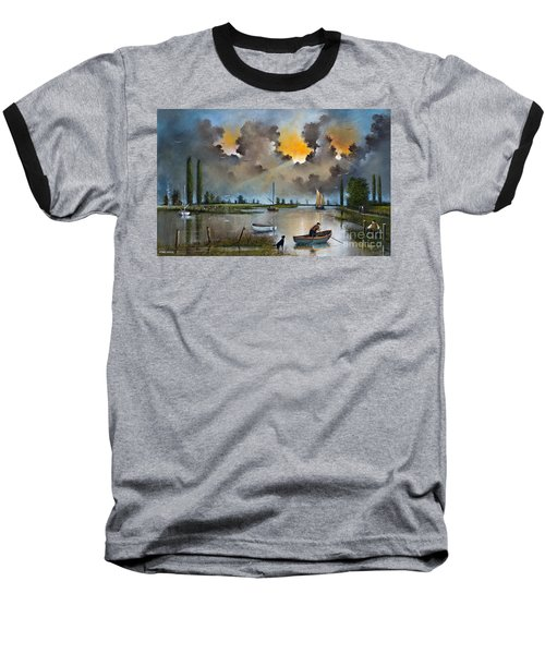 River Yare On The Broads Baseball T-Shirt