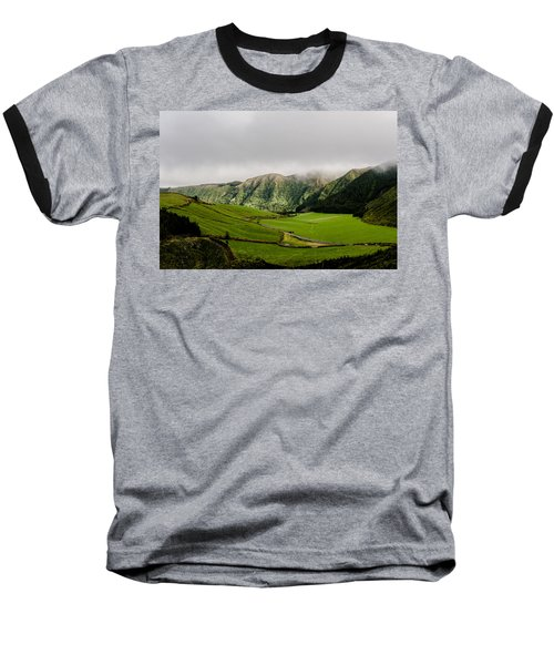Road Over Valley Baseball T-Shirt