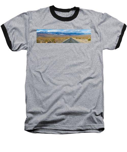 Road Passing Through A Desert, Death Baseball T-Shirt