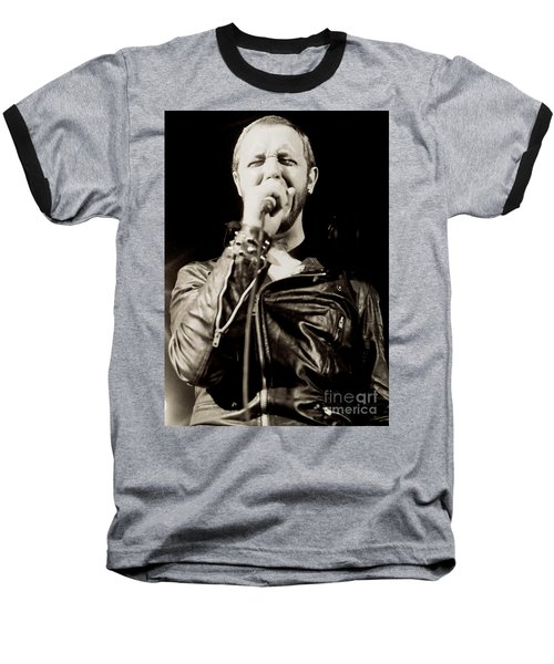 Rob Halford Of Judas Priest At The Warfield Theater During British Steel Tour - Unreleased  Baseball T-Shirt