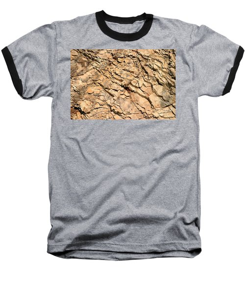 Baseball T-Shirt featuring the photograph Rock Wall by Henrik Lehnerer