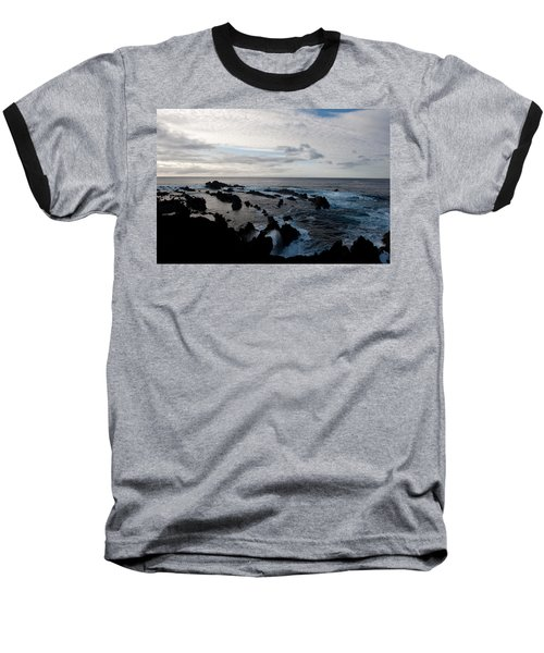 Rocky Beach At Dusk  Baseball T-Shirt