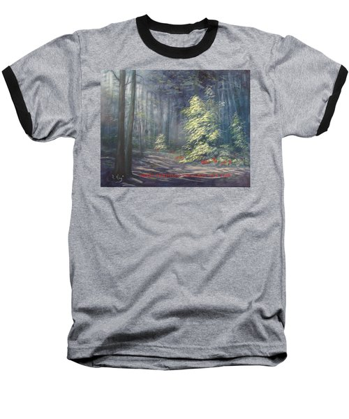 Roena King - Christmas Light Baseball T-Shirt