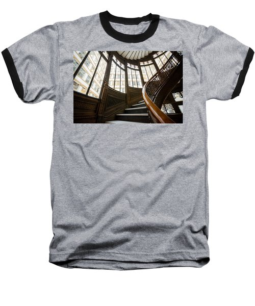 Rookery Building Up The Oriel Staircase Baseball T-Shirt