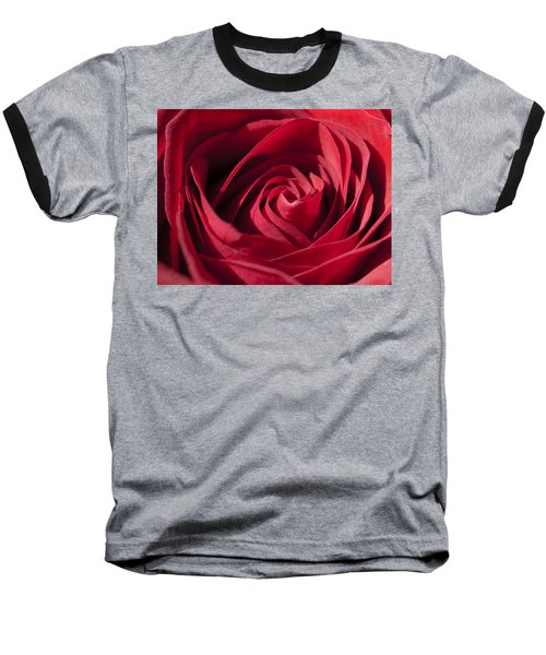 Rose Red Baseball T-Shirt