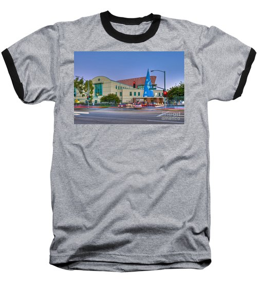 Roy E. Disney Animation Building In Burbank Ca. Baseball T-Shirt