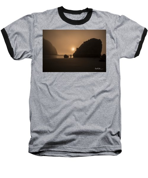 Ruby Beach Sunset Baseball T-Shirt