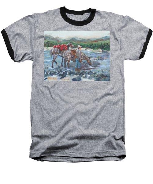 Running Gun Baseball T-Shirt