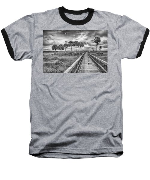 Baseball T-Shirt featuring the photograph Running by Howard Salmon