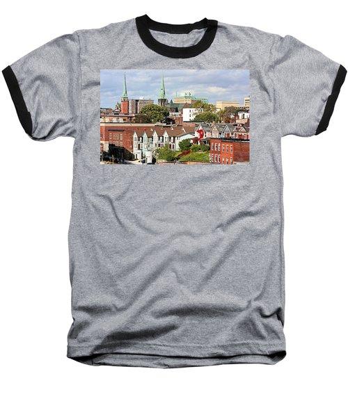 Saint John New Brunswick Baseball T-Shirt by Kristin Elmquist