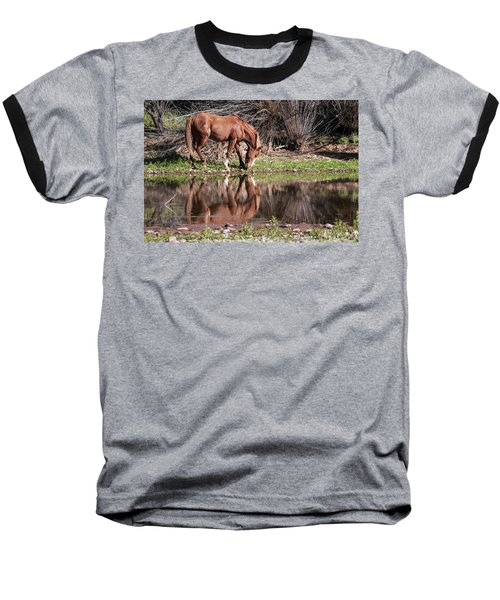 Salt River Wild Horse Baseball T-Shirt