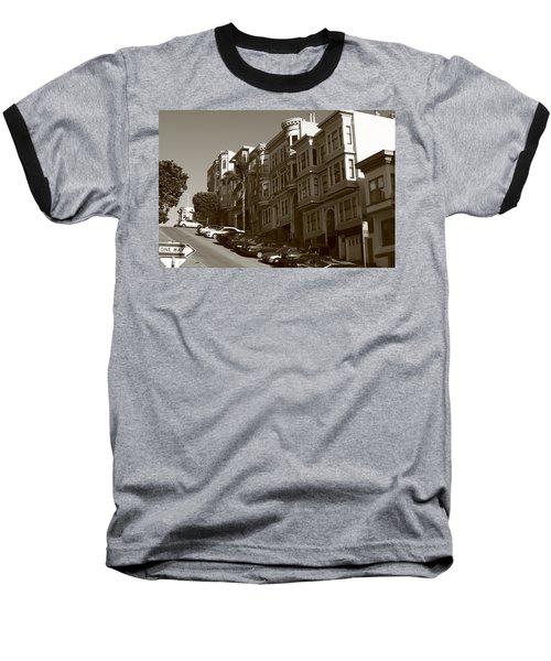San Francisco Hills  Baseball T-Shirt