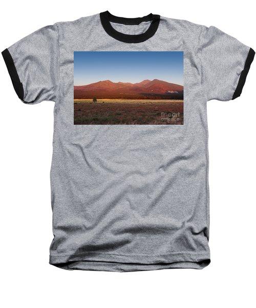 San Francisco Peaks Sunrise Baseball T-Shirt