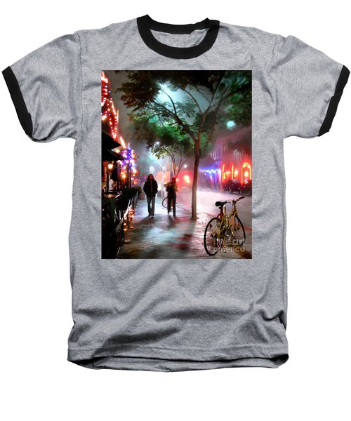 Baseball T-Shirt featuring the photograph Santa Monica Secrets by Jennie Breeze