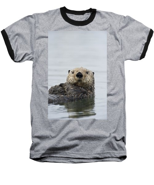 Sea Otter Alaska Baseball T-Shirt
