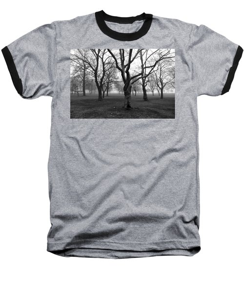 Seaside By The Tree Baseball T-Shirt