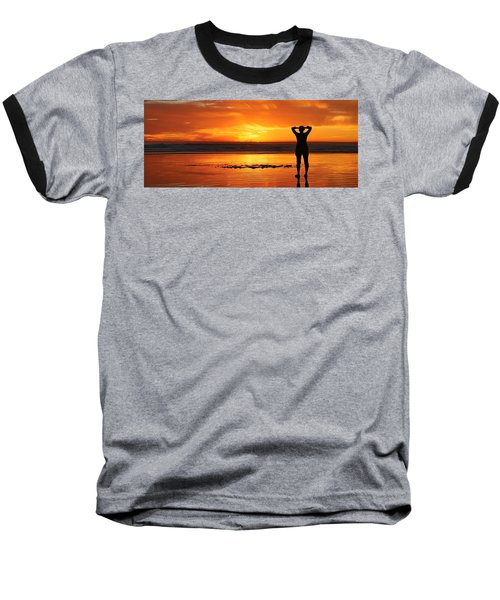 Seaside Reflections  Baseball T-Shirt