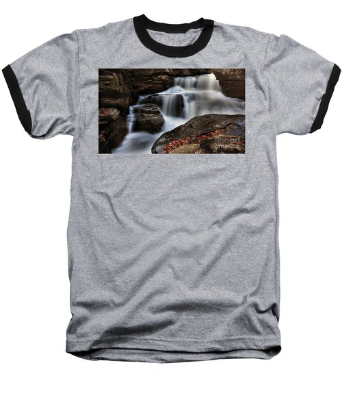 Secret Waterfall Baseball T-Shirt
