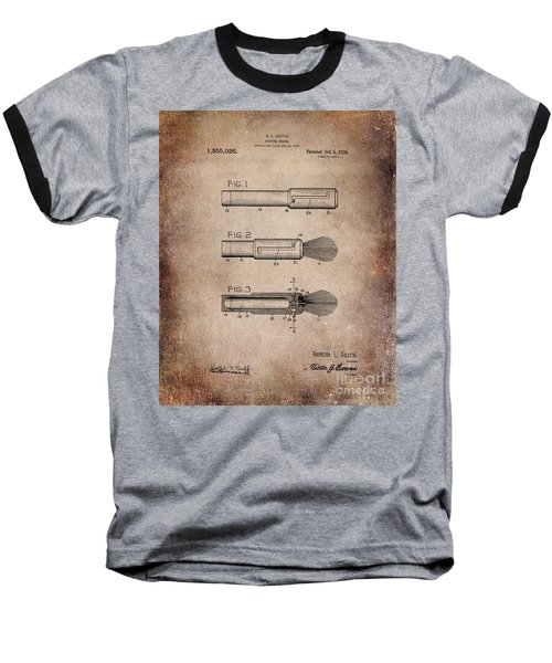 Shaving Brush Diagram 1920  Baseball T-Shirt