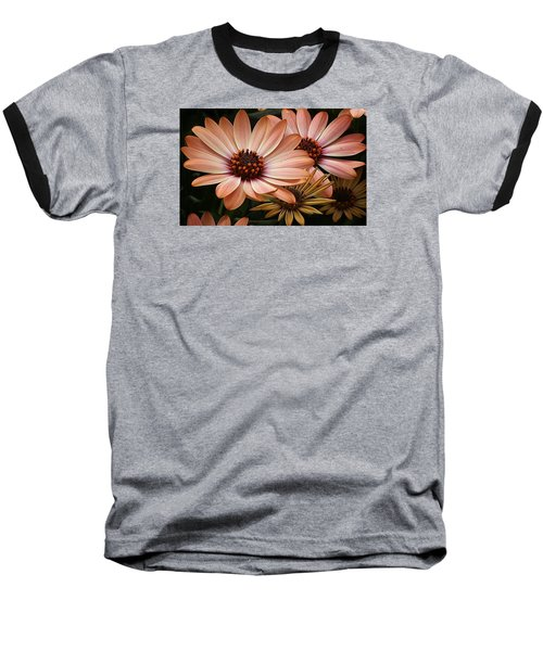 Baseball T-Shirt featuring the photograph She Loves Me She Loves Me Not  by Bruce Bley