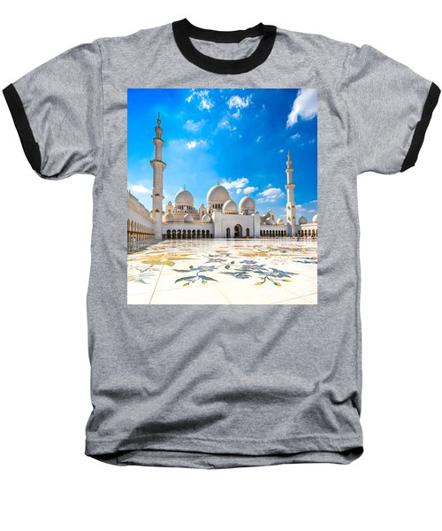 Sheikh Zayed Mosque - Abu Dhabi - Uae Baseball T-Shirt