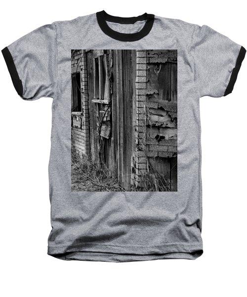 Shingles Baseball T-Shirt by Tara Lynn