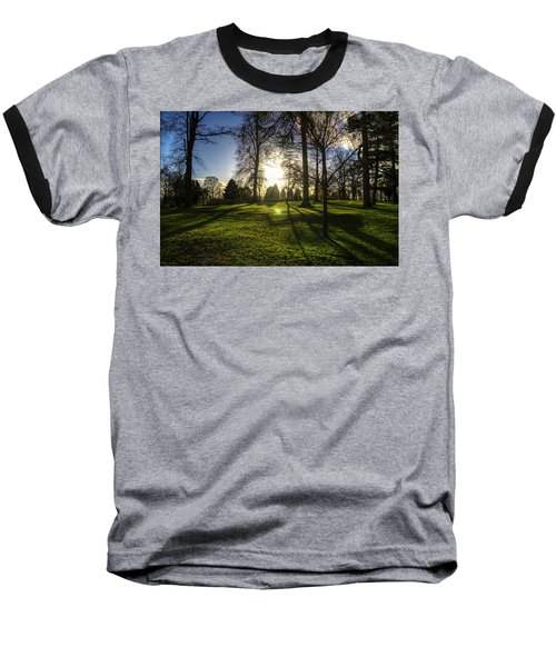 Short Days Long Shadows Baseball T-Shirt