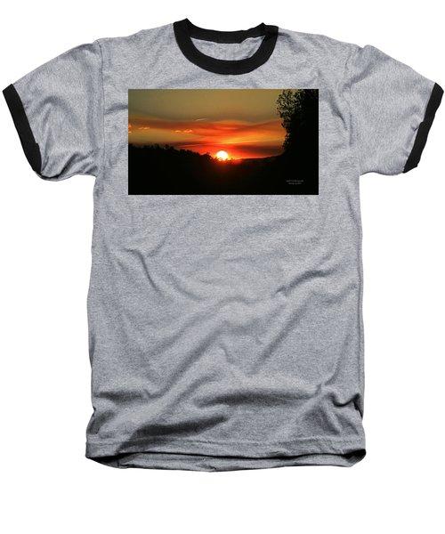 Smokin' Payson Sunset Baseball T-Shirt
