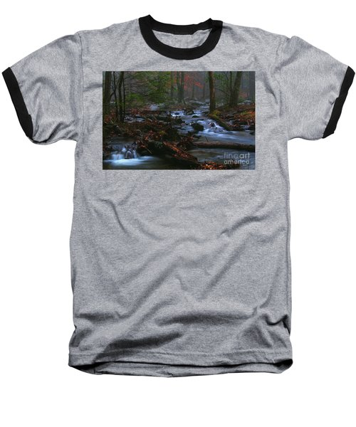 Smoky Mountain Color Baseball T-Shirt