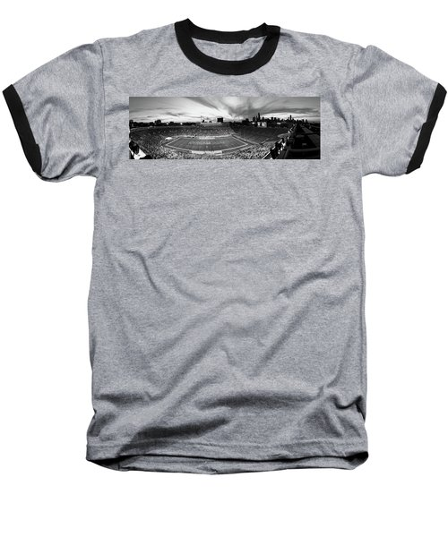 Soldier Field Football, Chicago Baseball T-Shirt by Panoramic Images