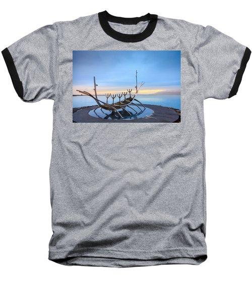 Solfar Sun Voyager Baseball T-Shirt by Alexey Stiop