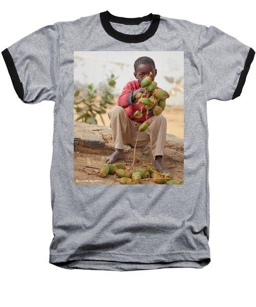 Baseball T-Shirt featuring the photograph Somewhere Else On Goree Island  by Stwayne Keubrick